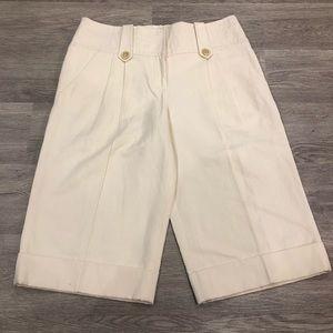 "DVF Silk/Linen ""Maurizio"" Culottes Size 6 NWT"